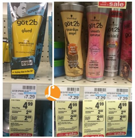 styling gel cvs got2b hair coupon only 0 99 at cvs living rich with