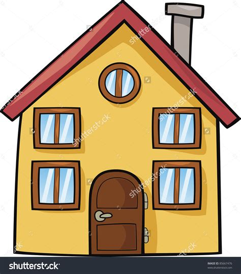 cartoon house design cartoon house stock photos images pictures shutterstock funny illustration vector