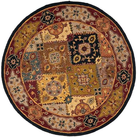 8 Ft Rug by Safavieh Heritage Multi 8 Ft X 8 Ft Area Rug