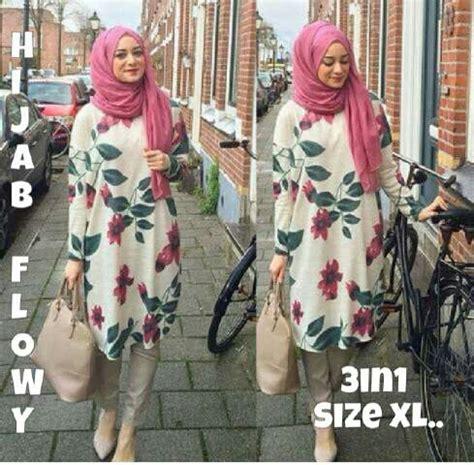 Setelan Baju Muslim 1 baju muslim setelan wanita 3 in 1 model terbaru