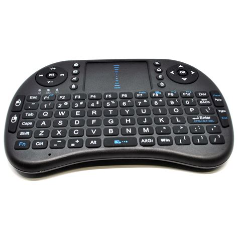 Keyboard Wireless Surabaya keyboard wireless 2 4ghz dengan touch pad fungsi mouse