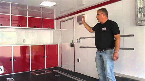 custom atc enclosed car hauler qstab built