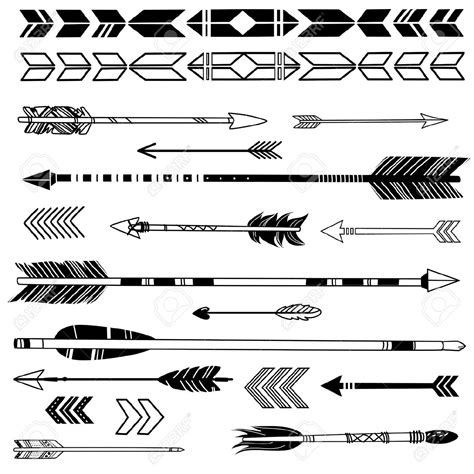 tribal arrow tattoos american arrows search tatoos