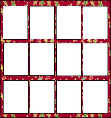 12 Days Of Christmas Template By Lilacalosa On Deviantart 12 Days Of Printable Templates