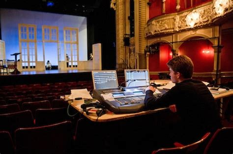 Lighting Technician by Guest Being A Stage Manager And Lighting Technician