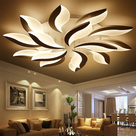 decorative lights for home acrylic led ceiling lights modern simplicity home