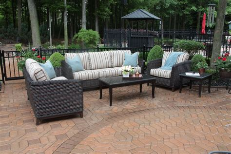 all weather wicker patio furniture ohana outdoor