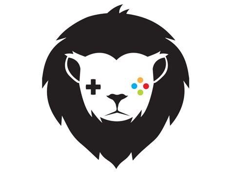 gaming lion logo template by brandi lea logos