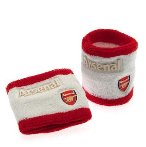 gifts for arsenal fans arsenal wristbands sweatbands gifts for an arsenal fan