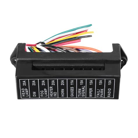 Jz5704 Jiazhan Car 10 Way Fuse Box 10 Road With Wire