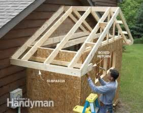 get more garage storage with bump out addition the family handyman and detached workshop traditional shed