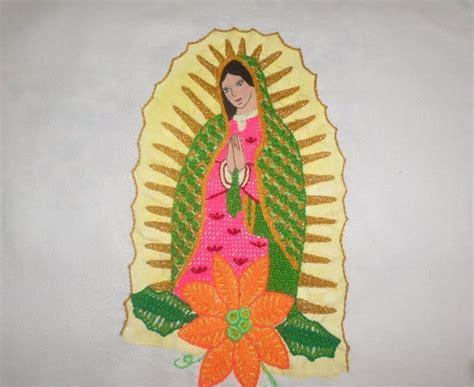 imagenes de la virgen maria para bordar bordado fantasia virgen terminada youtube