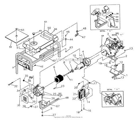 generac gp5000 parts diagram generac generator gp5500 wiring diagrams generac gp5000
