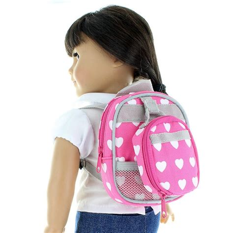Doll Set doll backpack set doll size fits american