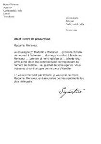 Exemple Lettre De Procuration Manuscrite Mandataire Procuration