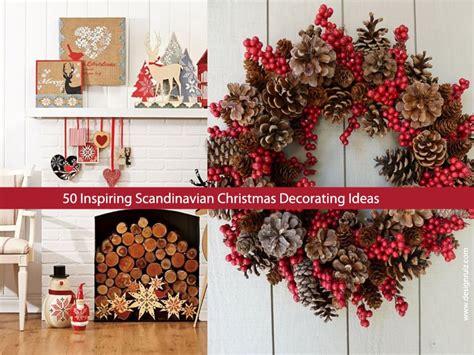 Rustic Dining Room Decorating Ideas by 50 Inspiring Scandinavian Christmas Decorating Ideas