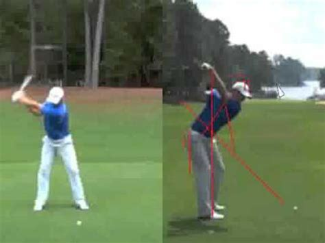 dustin johnson golf swing dustin johnson golf swing analysis youtube