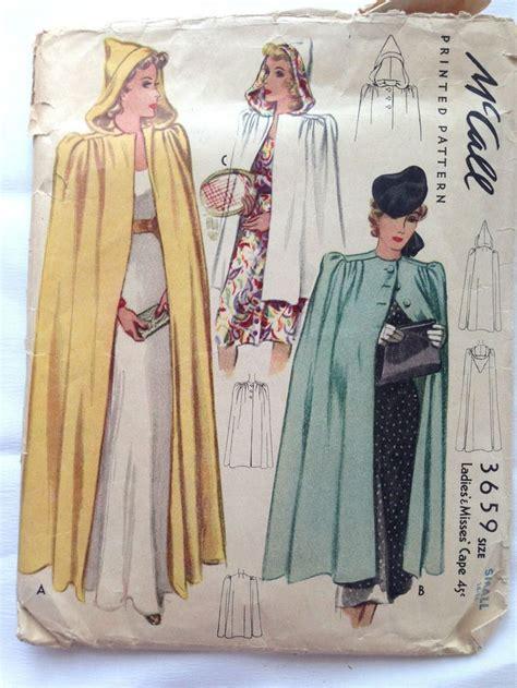sewing pattern cape best 25 cloak pattern ideas on pinterest hood pattern