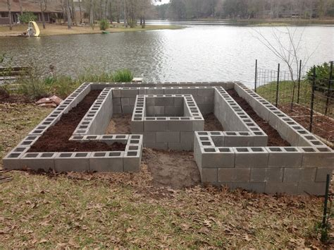 cinder block raised bed texas gardening forum raised bed garden all things