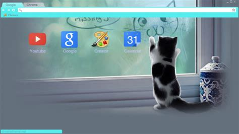 cute themes chrome cute cat chrome theme themebeta