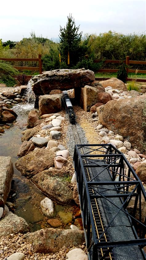 train layout water features water features fountains alpine landscaping