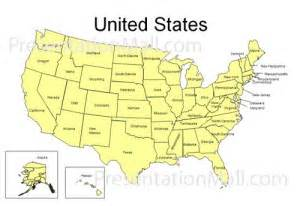 united states map professional presentation solutions