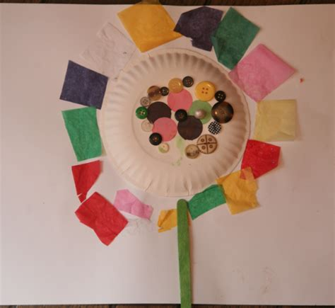 craft activity for flower crafts for an activity