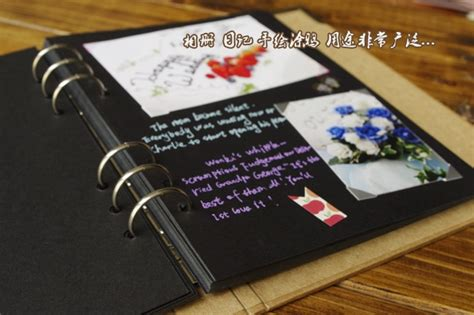 creative sticky diy photo album wedding autograph album
