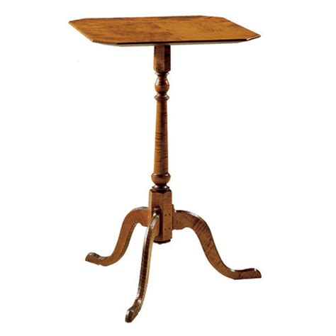 Candle Table by D R Dimes Dunlap Candle Stand Occasional Tables Side
