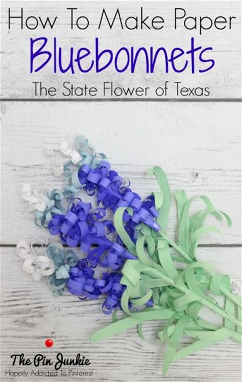 Show How To Make Paper Flowers - 19 best images about bluebonnet award on