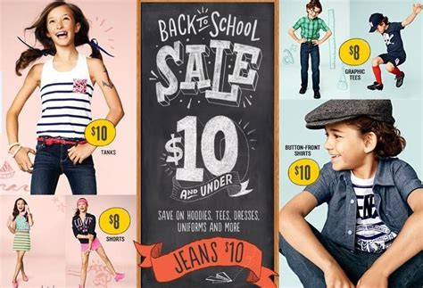 navy back to school sale tons of clothes from 5