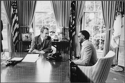 Charles From The Office by File Nixon Meeting With Charles In The Oval Office