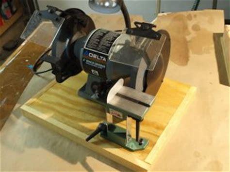 grizzly bench grinder tool rest dandyfunk woodwork