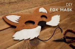 fantastic mr fox mask template diy fox mask ideas searching