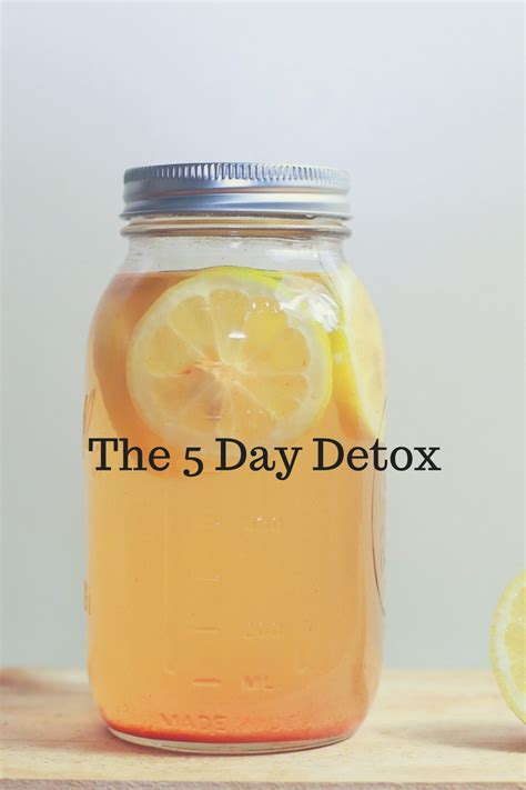 The Five Day Detox by The 5 Day Detox Weight Loss For