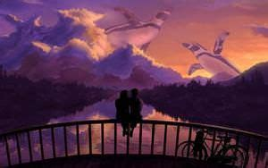 romantic scenery
