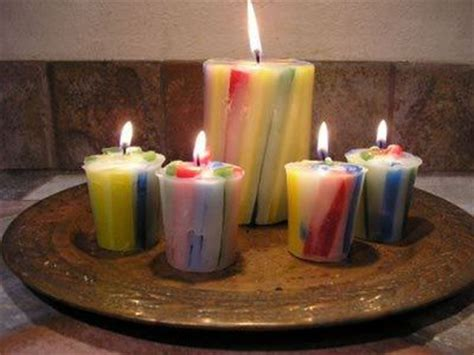 Sumbu Lilin Diy Candle vertical chunk candles blue diy and crafts and the o jays