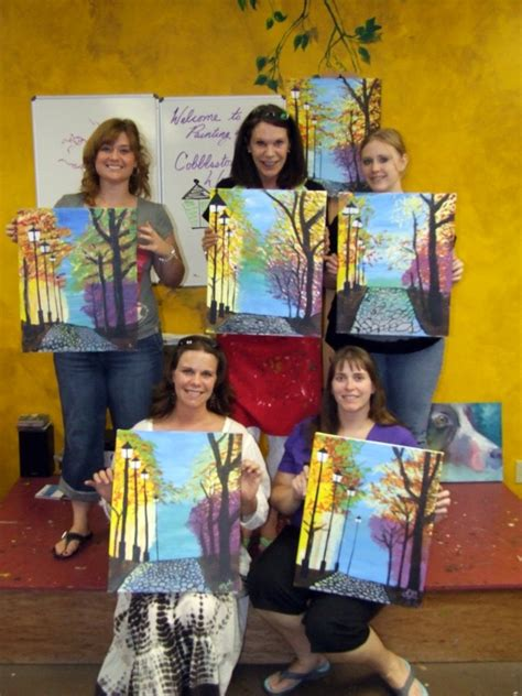 paint with a twist jax fl news quot painting with a twist quot in the woodlands