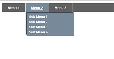 Membuat Dropdown Menu Sederhana Menggunakan Html Dan Css | membuat menu horizontal dropdown dengan css sle menu