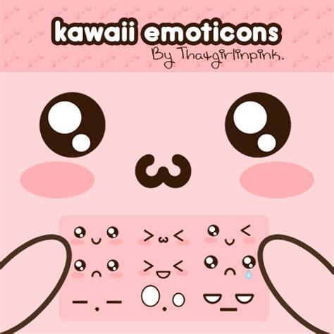 kawaii emoticons wallpaper kawaii emoticons by thatgirlinpink on deviantart