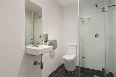 bathroom facilities accommodation link2 student living