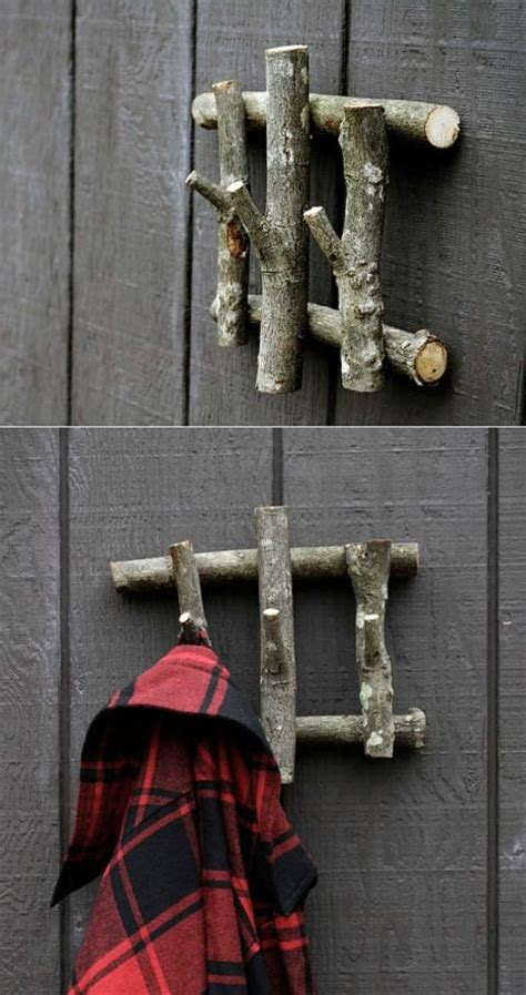 cara membuat rak buku dari ranting pohon memanfaatkan ranting pohon jadi dekorasi rumah rumah dan