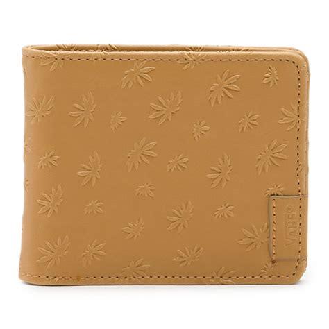 Wallet Leaf peace leaf wallet shop mens wallets at vans