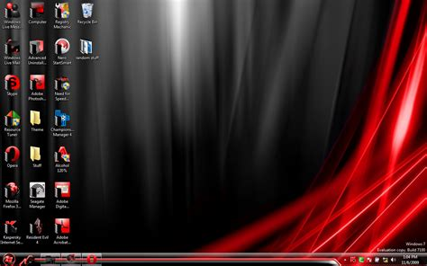themes with black win 7 black and red by dumdummer on deviantart