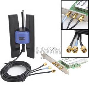 linksys 3 booster antenna sma 802 11b g n for wifi wireless card router ap ebay