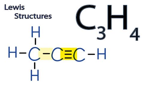 Lewis Structure Drawer by C3h4 Lewis Structure How To Draw The Lewis Structure For C3h4