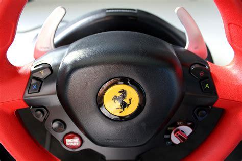 Xbox One Thrustmaster Vg 458 Spider Racing Wheel