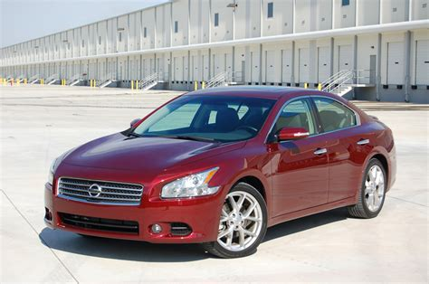 2010 nissan maxima sv review test drive the 4 door