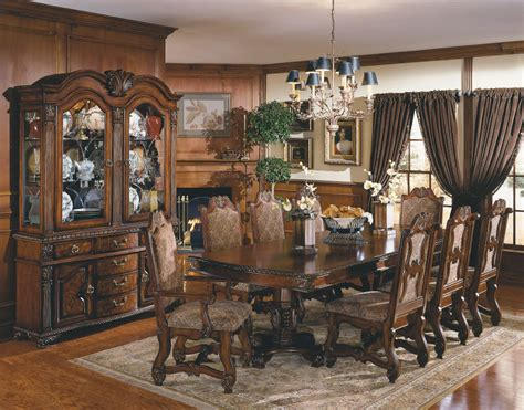 Traditional Dining Room Set by Formal Dining Table Sets Decobizz