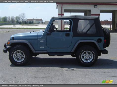 1999 jeep wrangler sport 4x4 in gunmetal pearlcoat photo no 8137017 gtcarlot